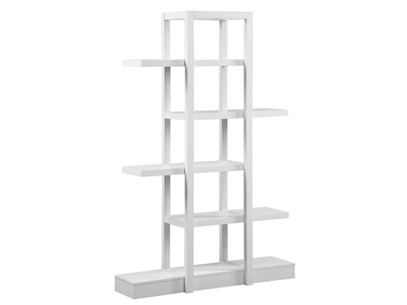 Bookcase open display etagere your choice - Etagere zig zag ...