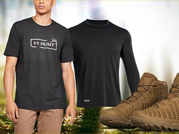 Under Armour Tactical and Hunting Apparel