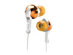 City Lights In-Ear Earphones - Orange