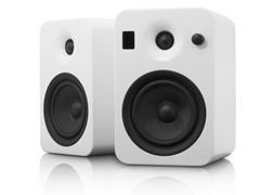YUMI Speakers w/Bluetooth - Matte White