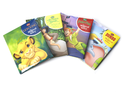 Disney Padded Book Bundle-Set of 4 Books