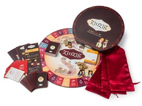 ZinZig Wine Tasting & Trivia Board Game