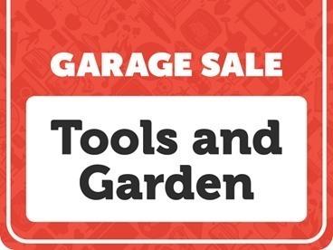 Tools & Garden Garage Sale