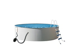 Metal Wall Swimming Pool, 12' x 52""