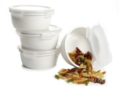 Lock & Lock 8pc Porcelain Container Set