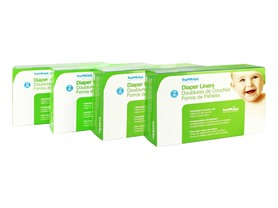 Bumkins Flushable Diaper Liners 4-Pack