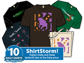 Surprise! It's a kevlar51 Shirtstorm!