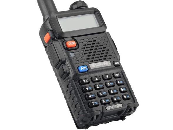 BaoFeng UV-5R Dual Band Walkie Talkie VHF UHF Two Way Radio 5 Pack
