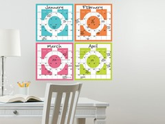 Chroma 4-Piece Calendar Set