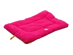 Pet Life Reversible Ped Bed - Pink