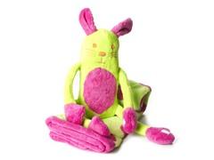 Elegant Baby Blanket & Toy - Bunny
