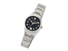 Women's Black Dial Alliance Watch