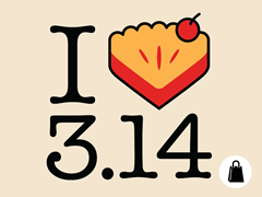 I Heart Pi(e) Tote