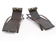RST Delano ARC Lounger w/ Pillow Set (2-Pack)
