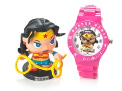 Wonder Woman Figure & Watch Set