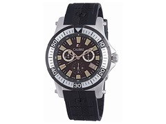 Calibre: Hawk Chrono Mens Black Watch