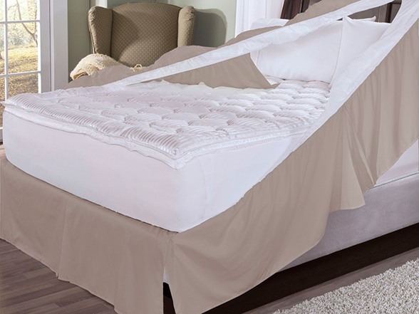 bedskirt and box spring protector twin. Black Bedroom Furniture Sets. Home Design Ideas