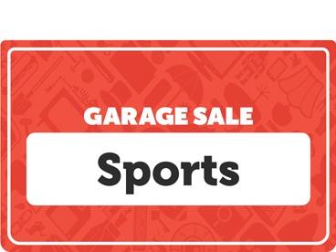 Sports & Outdoors Garage Sale