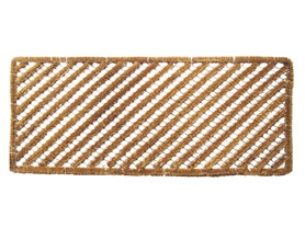 Entryways Rectangle Stripes Wire Brush - Boot Scraper