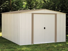 10' x 12' Steel Storage Shed
