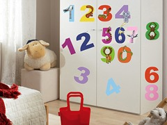 123 Wall Decals