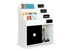 White Playful Book Shelf