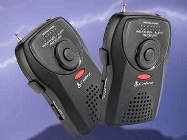 Cobra Portable Emergency Weather Radios