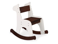 Café con Leche Zebra Rocking Chair