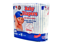 St. Louis Cardinals Diapers (160-192ct)