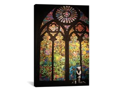 Stained Glass Window Graffiti