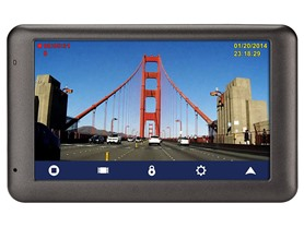 "Magellan 5"" GPS + Dashcam with Lifetime Maps"