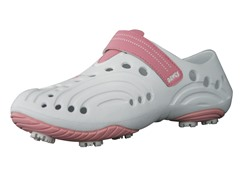 Women's Golf Spirit Shoes - White/Soft Pink
