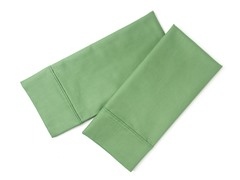 800TC Standard Pillowcase Set - Green