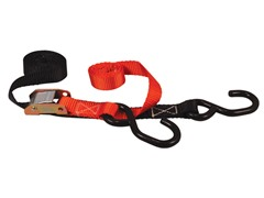 "1"" Utility Tie Down Straps w/ Soft Ties"