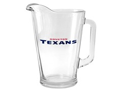 Texans Glass Pitcher