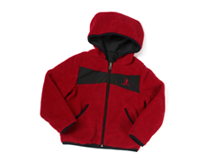 Red Reversible Sherpa Jacket