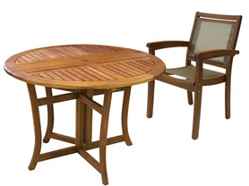 "Outdoor Interiors 48"" Table or Chairs"