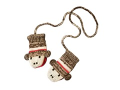 Sock Monkey Mittens (Infant & Toddler)