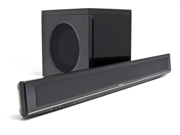 panasonic sound bar home theater system with wireless. Black Bedroom Furniture Sets. Home Design Ideas