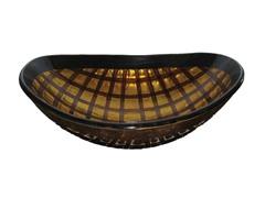 Grata Oval Glass Vessel Sink