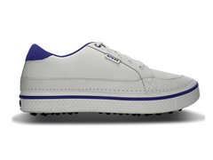 Bradyn Golf Shoes - White/Sea Blue