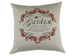 Garden Gate Garnet 26x26 Pillow