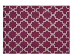 Maroc Aster Flat Weave - Magenta