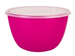 Zak Designs Pub Raspberry 3 qt Serve Bowl