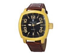 18K Gold Square Watch