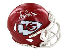 Alex Smith Chiefs Signed Mini Helmets