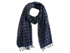 2-Pack Geometric Print Scarves