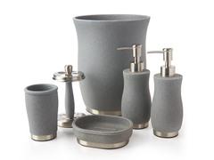 Tava 6pc Bath Set - Gray