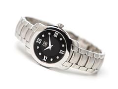 Ladies ESQ Verona Black Dial Watch