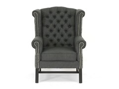 Baxton Studio Sussex Tufted Club Chair